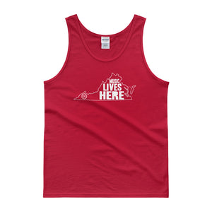"Virginia ""MUSIC LIVES HERE"" Men's Tank Top"