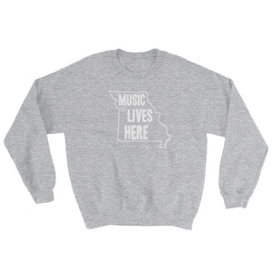 "Missouri ""MUSIC LIVE HERE"" Sweatshirt"