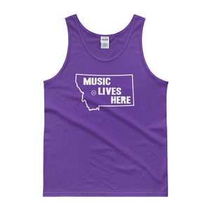 "Montana ""MUSIC LIVES HERE"" Men's Tank Top"