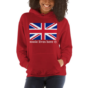 "London ""MUSIC LIVES HERE"" Hooded Sweatshirt"
