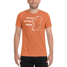 "Ireland ""MUSIC LIVES HERE"" Men's Triblend T-Shirt"