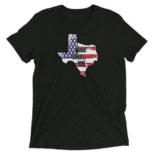 "Texas Patriot ""MUSIC LIVES HERE"" Men's Triblend T-Shirt"