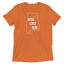 "Alabama - Gadsden ""MUSIC LIVES HERE"" Men's Triblend T-Shirt"