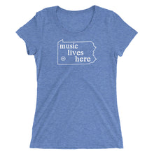 "Pennsylvania ""MUSIC LIVES HERE"" Women's Triblend T-Shirt"