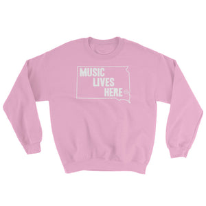 "South Dakota ""MUSIC LIVES HERE"" Sweatshirt"
