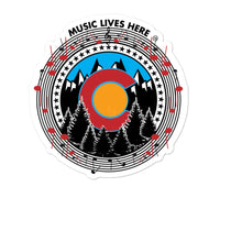 "Colorado ""MUSIC LIVES HERE"" Stickers"