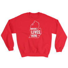 "Michigan ""MUSIC LIVES HERE"" Sweatshirt"