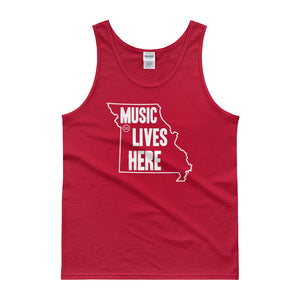 "Missouri ""MUSIC LIVES HERE"" Men's Tank Top"