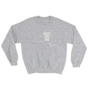 "New York ""MUSIC LIVES HERE"" Sweatshirt"