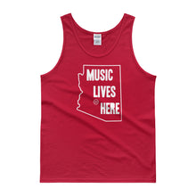 "Arizona ""MUSIC LIVES HERE"" Men's Tank Top"