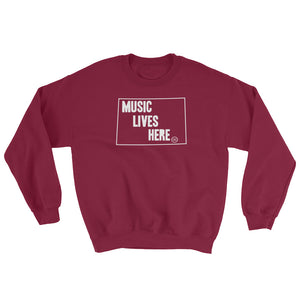 "Wyoming ""MUSIC LIVES HERE"" Sweatshirt"