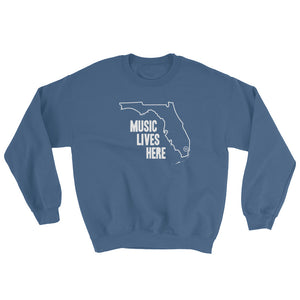 "Florida ""MUSIC LIVES HERE"" Sweatshirt"