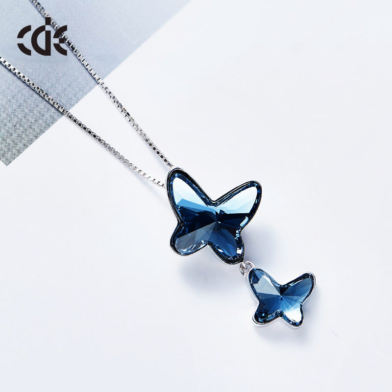 shop necklace ulysses blue butterfly papilio jewelry wing