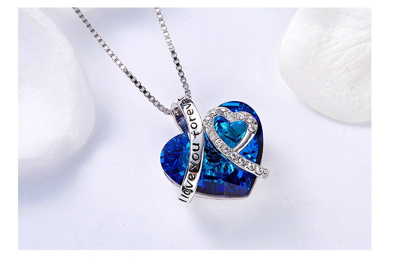 cute heart necklaces for girlfriend