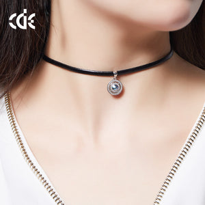 Womens black choker necklace 18th birthday gift ideas for sister