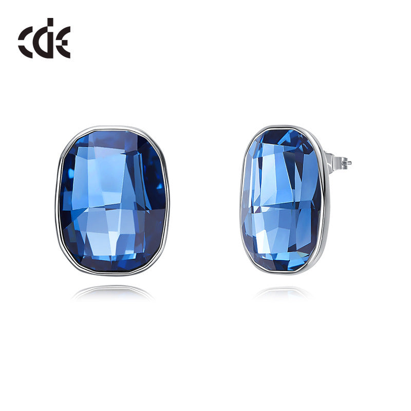 blue color earrings buy online