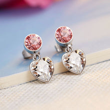 crystal drop earrings cheap