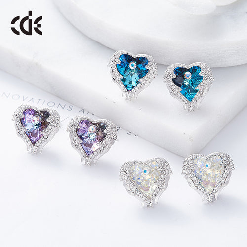 heart shaped earrings online