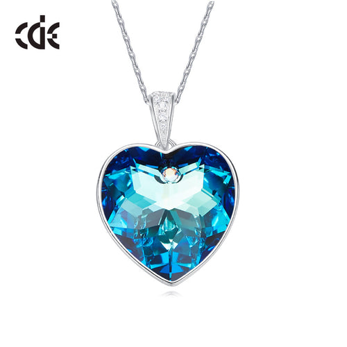 heart necklace for girlfriend