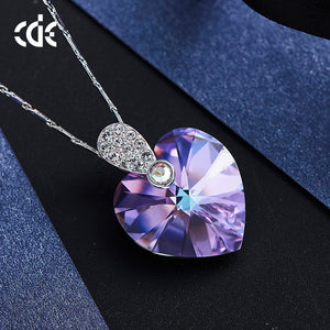 heart shaped necklace for girlfriend