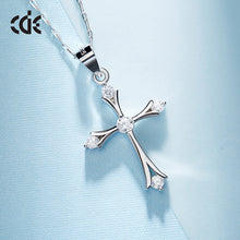 cheap silver cross necklace