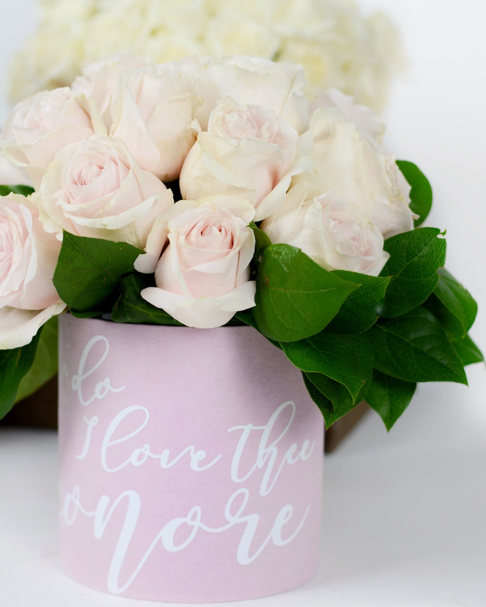 Valentine's Flowers- Pink Rose Arrangement