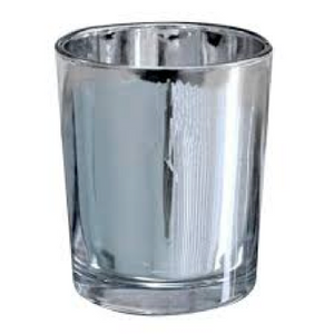 Silver Chrome Votive