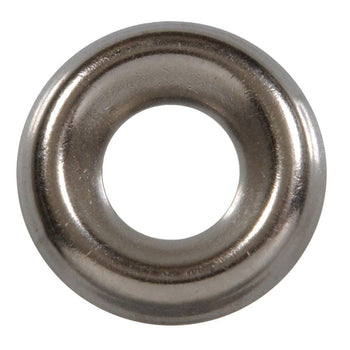 "10 x 1""Oval Phil SMS 18-8 w/ #10 SS Finishing Washer (Box of 100)"