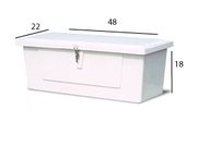 Model 418 Dock Box - 4' Low Profile [418]