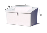 Model 500 Dock Box - Seat Top [500]