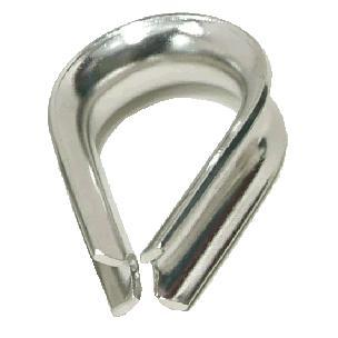 "Stainless Steel Thimble - 1/2"" [THIM12SS]"