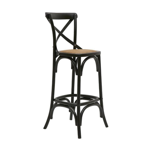 Camden Stool with Cowhide Seat - 65cm