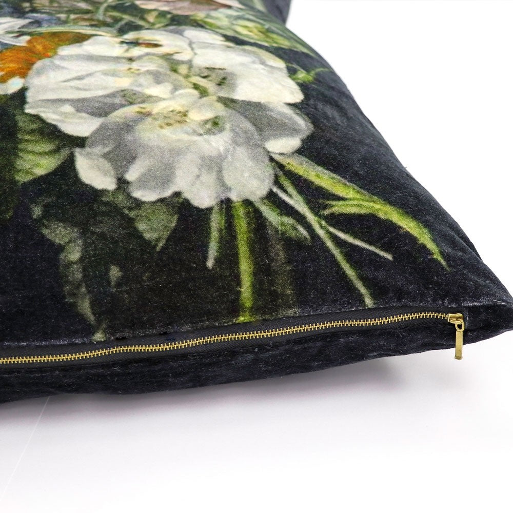 Zara Velvet Cushion with Duck Feather Inner