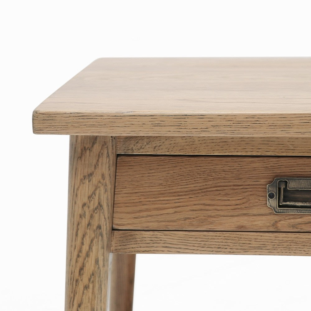 Vicchy Oak Bedside Table