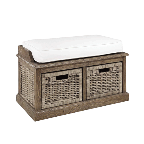 Artwood 2 Drawer Rattan Window Box