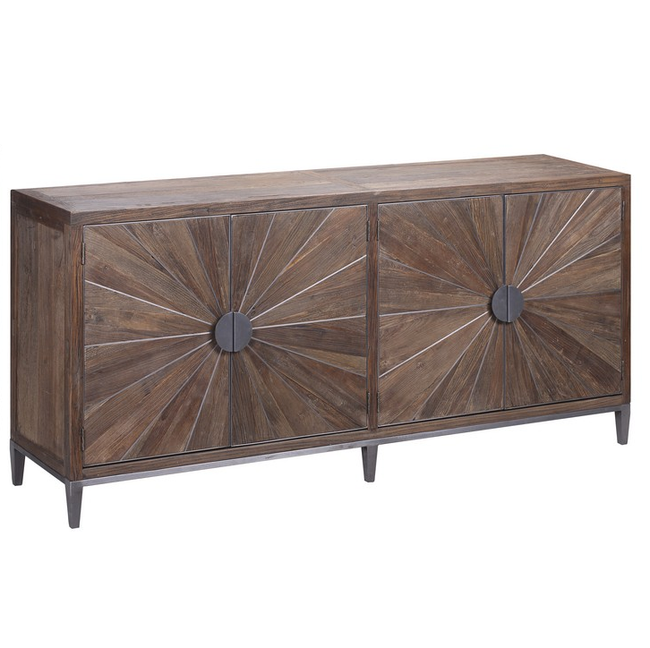 Ardo Recycled Elm & Iron Sideboard