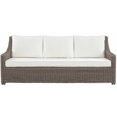 Lotus Slipcover Sofa - White