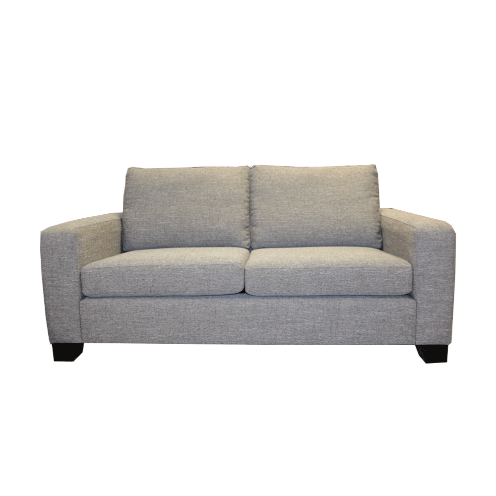 Bellview 3 + 2.5 Seater - Massimo Graphite Fabric - NZ Made