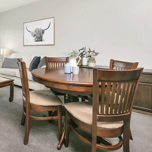 Berkeley 5 Piece Extension Table Dining Setting