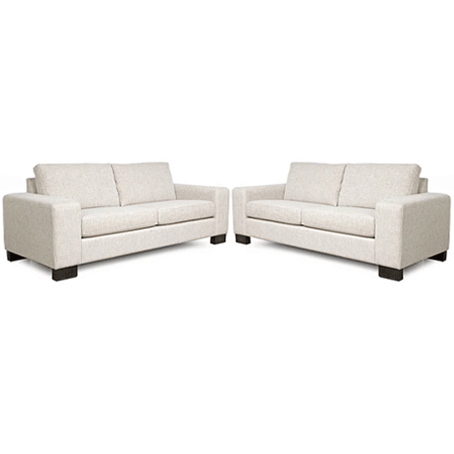 Bronson 3 + 2.5 Seater Lounge Suite -  NZ Made - Matrix Fabric
