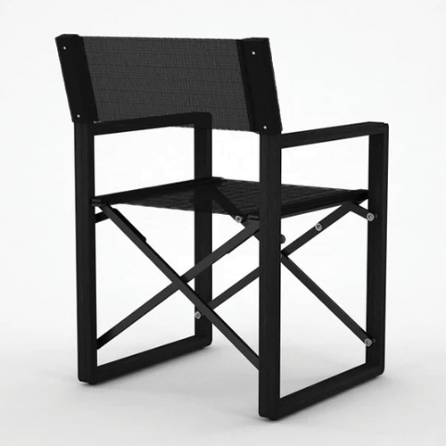 Devon Burling Outdoor Chair - Black