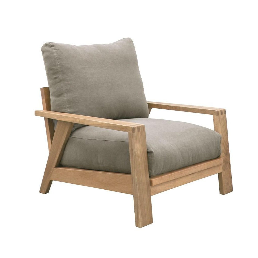 Cassel Armchair - Coastal Grey