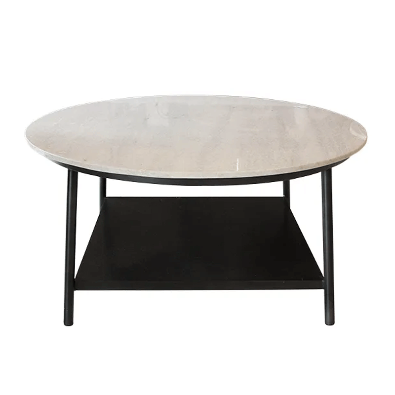 Celia Marble & Iron Coffee Table