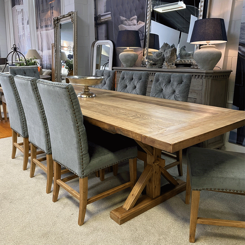 Chateau 3 Metre Dining Table - 3000
