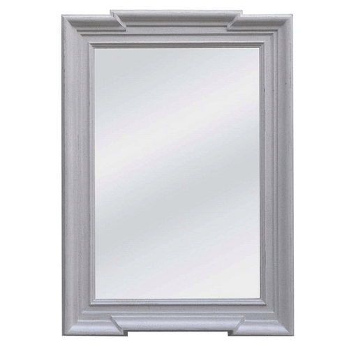 Deco Stone Grey Frame Mirror