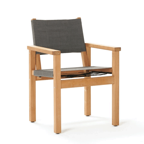 Devon Blake Outdoor Chair - Steel