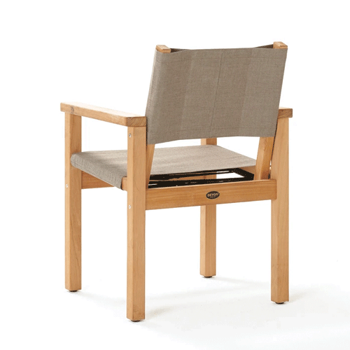 Devon Blake Outdoor Chair - Latte