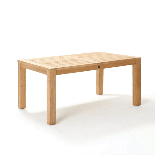 Devon Couper Teak Outdoor Dining Table - 1600