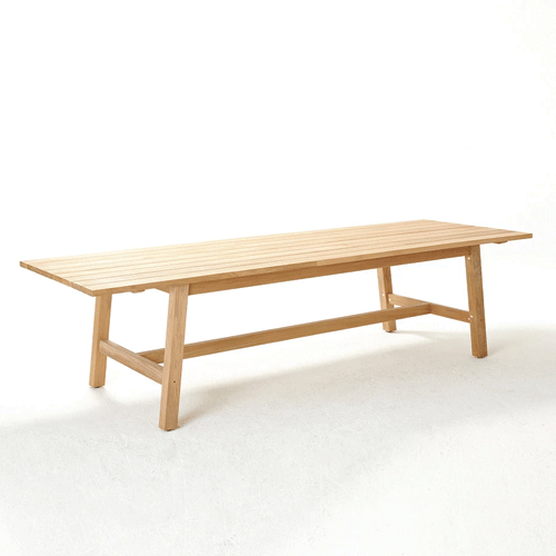 Devon Claris Teak Outdoor Dining Table - 3000
