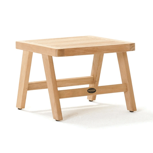 Devon Porter Teak Outdoor Side Table